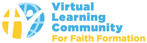 The Virtual Learning Community for Faith Formation Logo